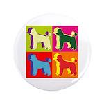 Poodle Silhouette Pop Art 3.5
