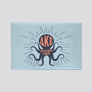 Delta Kappa Epsilon Octopus Rectangle Magnet