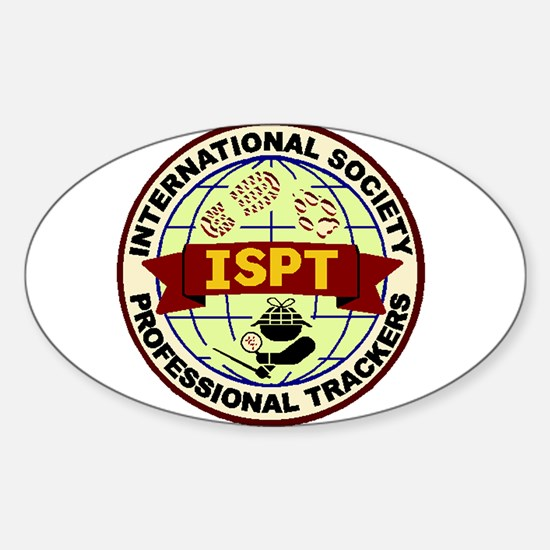 ISPT Patch Design Sticker (Oval)