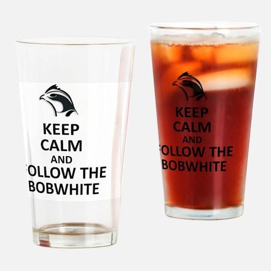 Cute Bobwhite Drinking Glass
