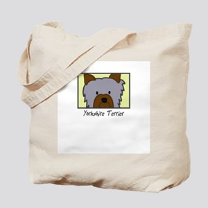 Anime Yorkie Tote Bag