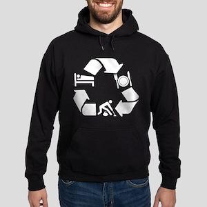 Curling designs Hoodie (dark)
