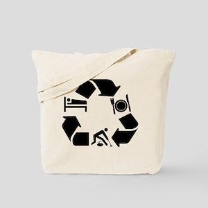 Curling designs Tote Bag