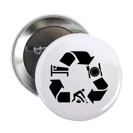 "Curling designs 2.25"" Button (10 pack)"