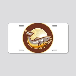 Speckled Trout Aluminum License Plate