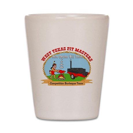 West Texas Pit Masters BBQ Shot Glass