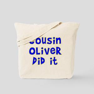 Cousin Oliver Tote Bag