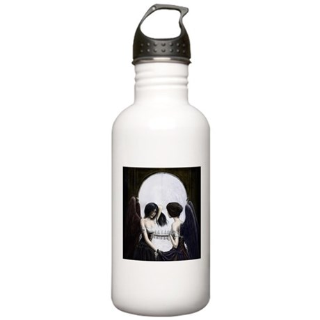 Skull Illusion Stainless Water Bottle 1.0L