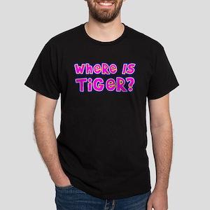 Where IS Tiger? Dark T-Shirt
