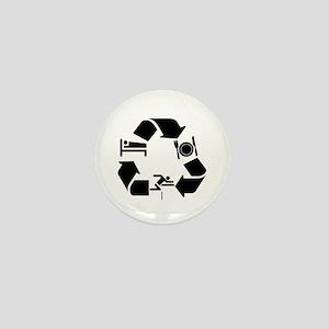 Hurdling designs Mini Button