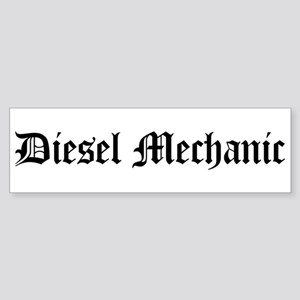 Diesel Mechanic Bumper Sticker