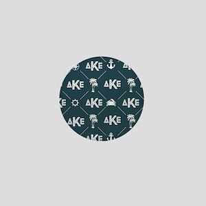 Delta Kappa Epsilon Pattern Mini Button
