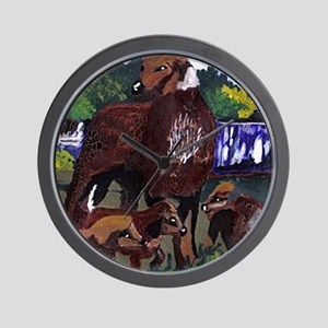 Pabear48 Artwork designed Wall Clock