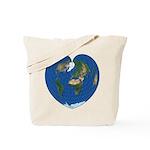 World Map Heart: Tote Bag