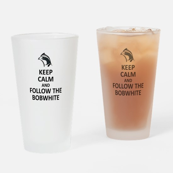 Bobwhite Leader Drinking Glass