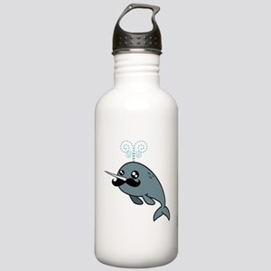 Narwhalstache Stainless Water Bottle 1.0L