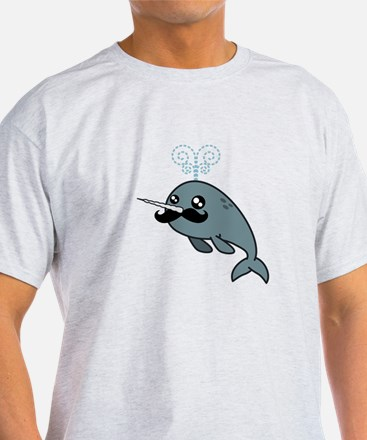 Narwhalstache T-Shirt