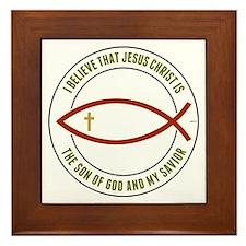 Christian Believers Framed Tile
