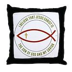 Christian Believers Throw Pillow