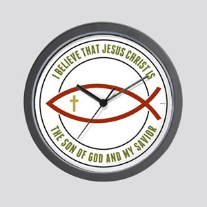 Christian Believers Wall Clock