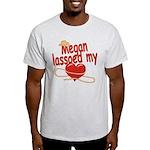 Megan Lassoed My Heart Light T-Shirt