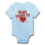 Megan Lassoed My Heart Infant Bodysuit