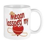 Megan Lassoed My Heart Mug