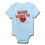 Melinda Lassoed My Heart Infant Bodysuit