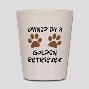 Owned By A Golden... Shot Glass