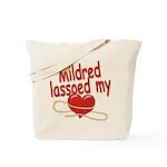 Mildred Lassoed My Heart Tote Bag