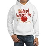 Mildred Lassoed My Heart Hooded Sweatshirt