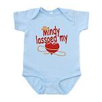 Mindy Lassoed My Heart Infant Bodysuit