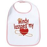 Mindy Lassoed My Heart Bib