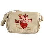 Mindy Lassoed My Heart Messenger Bag
