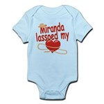 Miranda Lassoed My Heart Infant Bodysuit