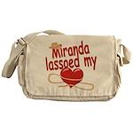 Miranda Lassoed My Heart Messenger Bag