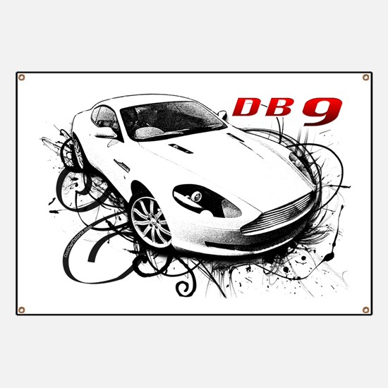 Aston Martin DB9 Banner