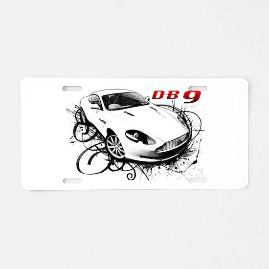 Aston Martin DB9 Aluminum License Plate