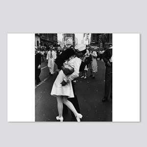 Sailors Kiss Best Postcards (Package of 8)