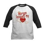 Morgan Lassoed My Heart Kids Baseball Jersey