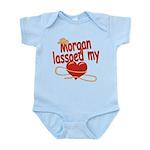 Morgan Lassoed My Heart Infant Bodysuit