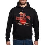 Mya Lassoed My Heart Hoodie (dark)