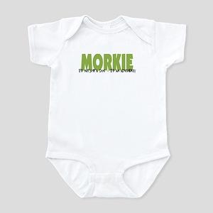 Morkie ADVENTURE Infant Bodysuit