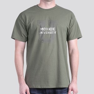 Morkie UNIVERSITY Dark T-Shirt