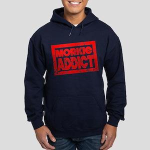 Morkie ADDICT Hoodie (dark)