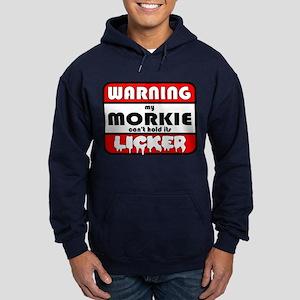 Morkie LICKER Hoodie (dark)
