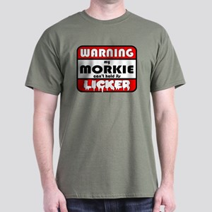 Morkie LICKER Dark T-Shirt