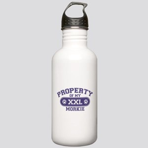 Morkie PROPERTY Stainless Water Bottle 1.0L