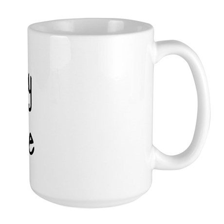 I LOVE MY Morkie Large Mug