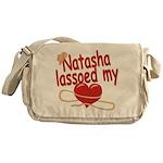 Natasha Lassoed My Heart Messenger Bag